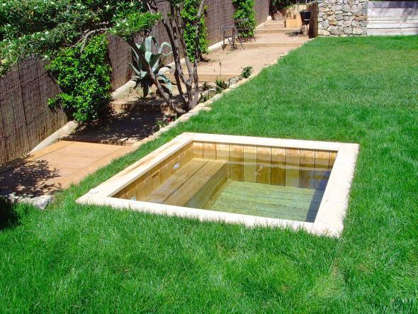 petite piscine bois