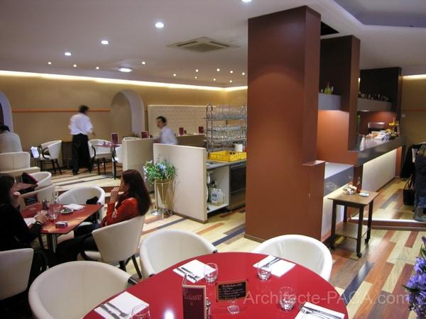 Rénovation d un restaurant par architecte paca