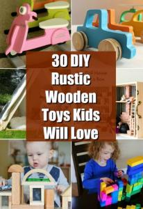 Toys Plans Rustic plans