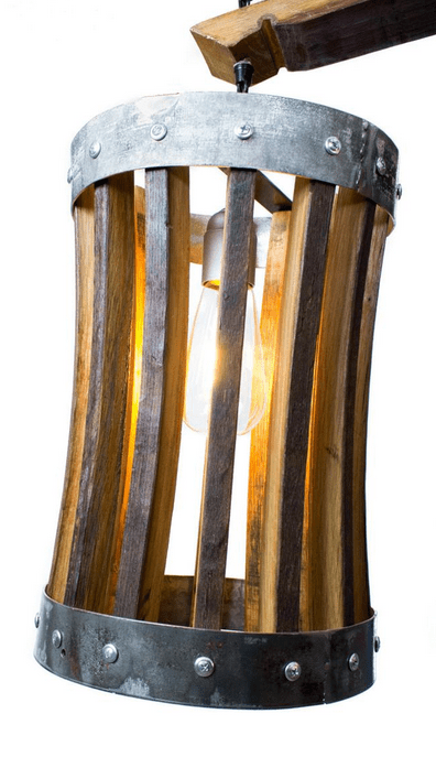 <img source = 'pic.gif' alt = 'barrel stave chandilier'/>