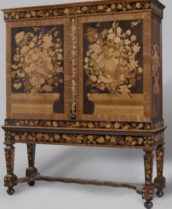 <img source = 'pic.gif' = 'Dutch marquetry cabinet'/>