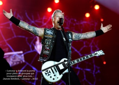 James Hetfield. Wikimedia commons
