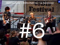 Pour l'heure simplement une première, le 49Bis Festival a proposé cet été une nouvelle soirée musicale mettant en valeur les groupes locaux. Parmi eux les très prometteurs Broken Bridge, The Crux Sledge ou encore Reverse Mountain. La galerie du festival se classe sixième. VOIR LA GALERIE COMPLÈTE