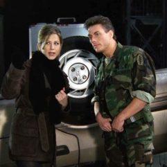 Rencontre de Monica et Rachel avec Jean-Claude Van Damme au cours de la saison 2.