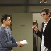 Toujours sur son lieu de travail, Joey rencontre Jeff Goldblum lors d'une audition dans la saison 9.
