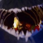 Gepetto à l'intérieur de la baleine. David Trotta © PLANS CULTES