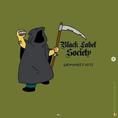 Black Label Society - Grimmest Hits. Image Instagram @springfieldalbums