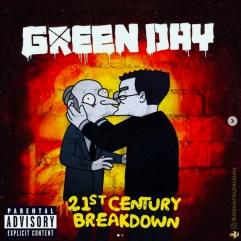 Green Day - 21th Century Breakdown. Image Instagram @springfieldalbums