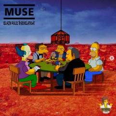 Muse - Black Holes and Revelations. Image Instagram @springfieldalbums