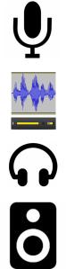 les outils audio
