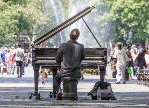 un piano à Manhattan