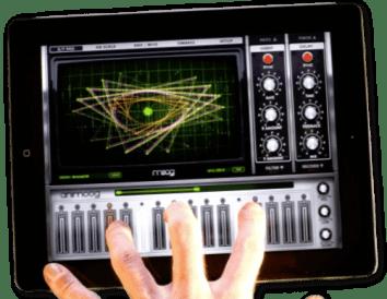 animoog  le synthé pour iPad