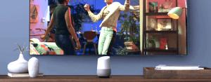 Google Home dans le Living Room