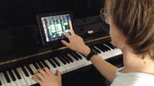 eduatcion musicale ecole de musique pédagogie musicale : piano et ipad