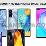 128GB Mobile Under 30000 in Pakistan