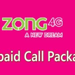 Zong Prepaid Call Packages