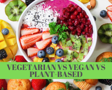 Vegetarian vs Vegan vs Plant-Based Diet