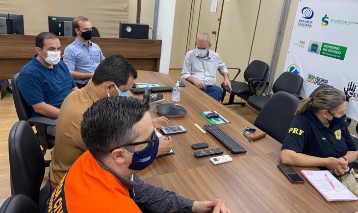 Assomasul participa de reunião na SES para tratativas sobre nova variante da Covid-19