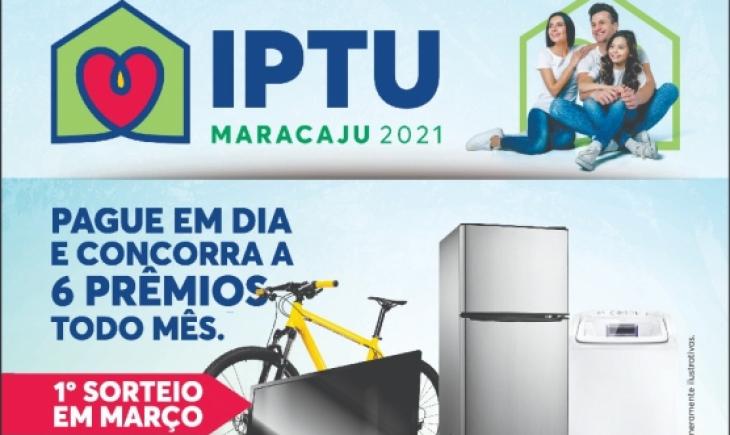 Primeira parcela do IPTU 2021 de Maracaju vence nesta quarta-feira 10-03