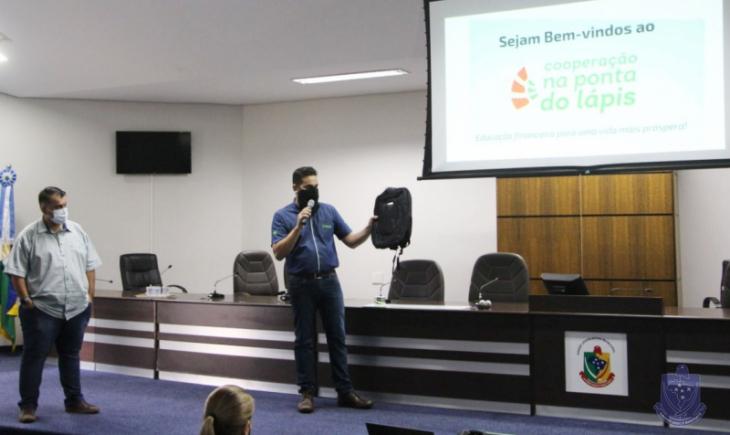 Câmara Municipal de Maracaju inicia novo projeto de educação e orientação.