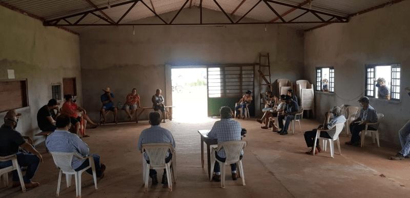 Secretaria Municipal de Desenvolvimento Econômico e Meio Ambiente realiza reunião com famílias produtoras do Assentamento Valinhos