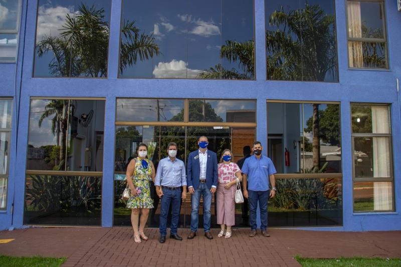 Prefeito recebe visita do Governador distrital do Rotary Club