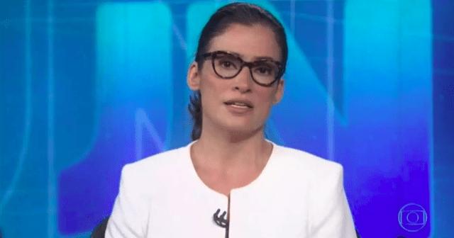 """Ao vivo no JN, Renata tenta criar """"pânico"""" e é desmentida por prefeito (veja o vídeo)"""