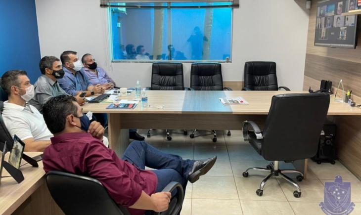 Vereadores realizam reunião virtual com diretores do BBCA Brazil