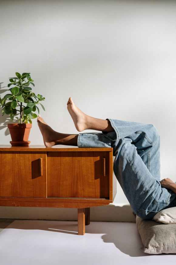 Elevate your feet for plantar fasciitis