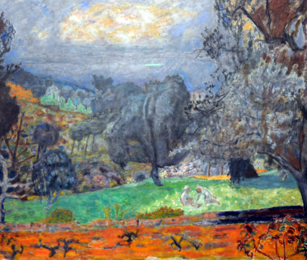 Pierre Bonnard – Landscape drawing class in Kunsthaus