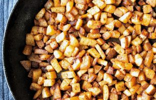 One-pan breakfast homefries potatoes