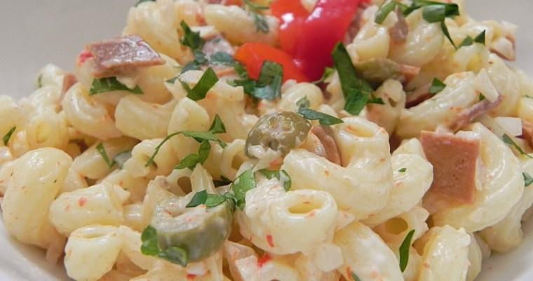 Ensalada de Coditos/Elbow Pasta Salad