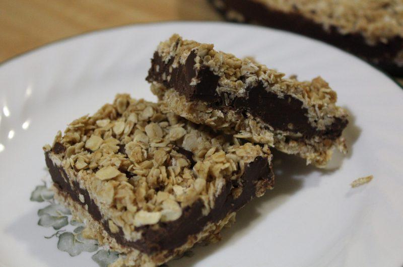 Peanut Butter Chocolate Oatmeal Bars