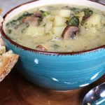 Plant Based Mushroom Potato Soup