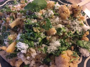 Cauliflower Coriander and Orange Pilaf