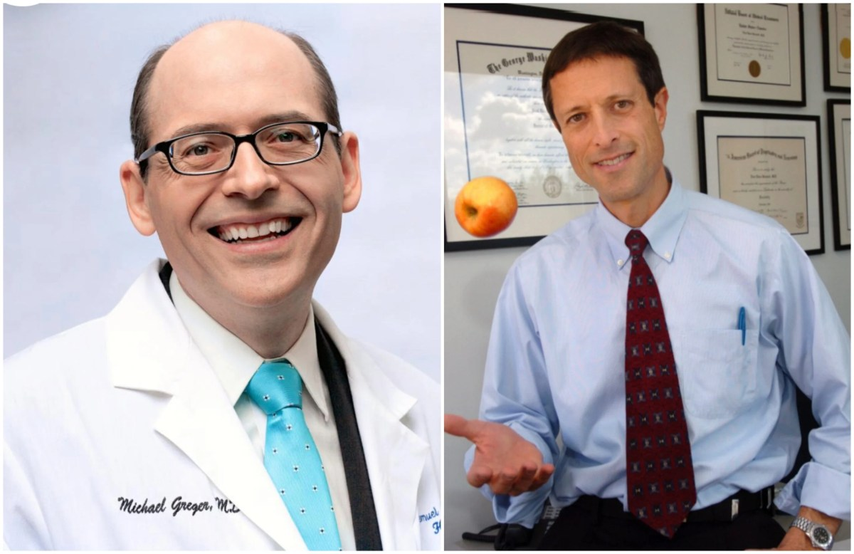 Dr. Michael Greger and Dr. Neal Barnard are among the speakers at the Plant-Based Climate Summit