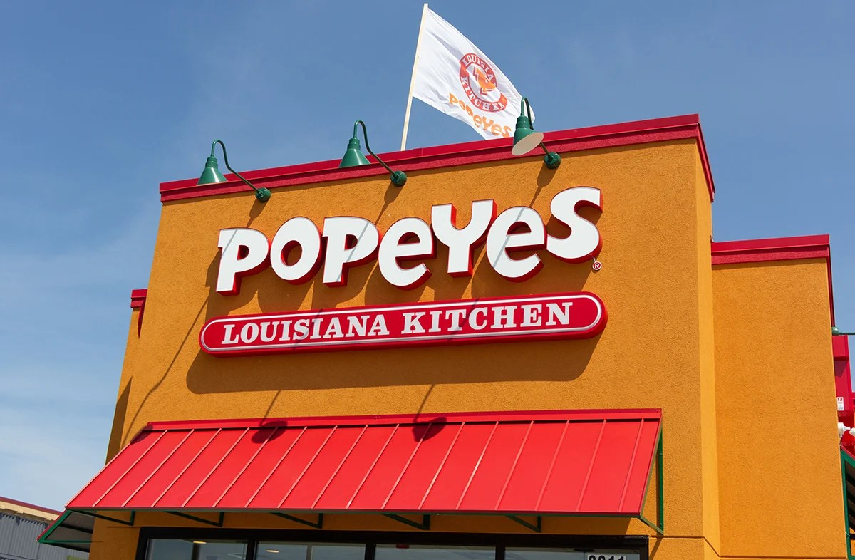 Popeyes store in the U.S