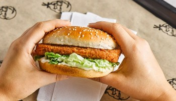 KFC's plant-based Vegan Burger
