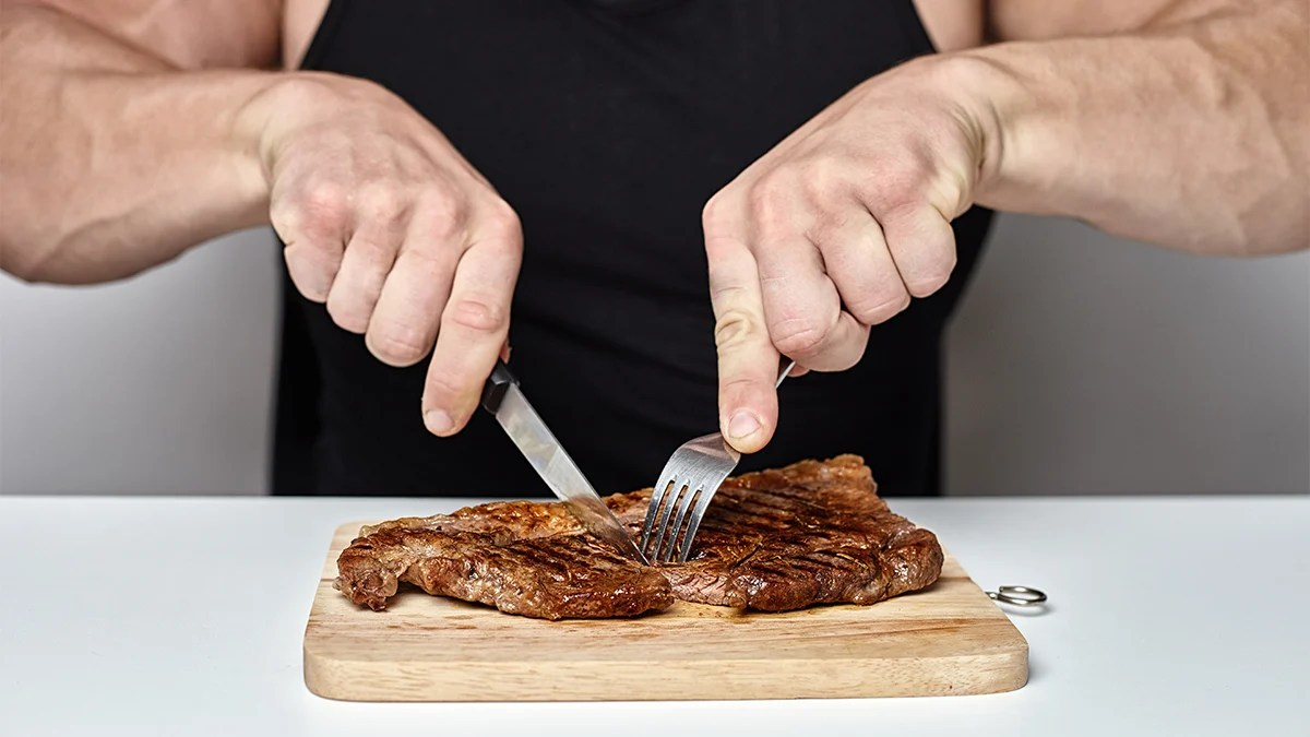 The EU-funded ad encourages people to eat beef