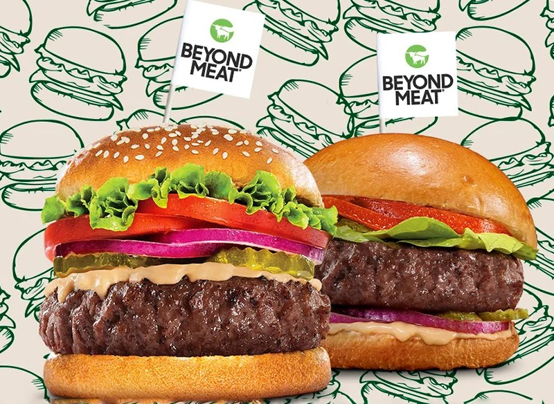 Beyond Meat's new vegan burgers