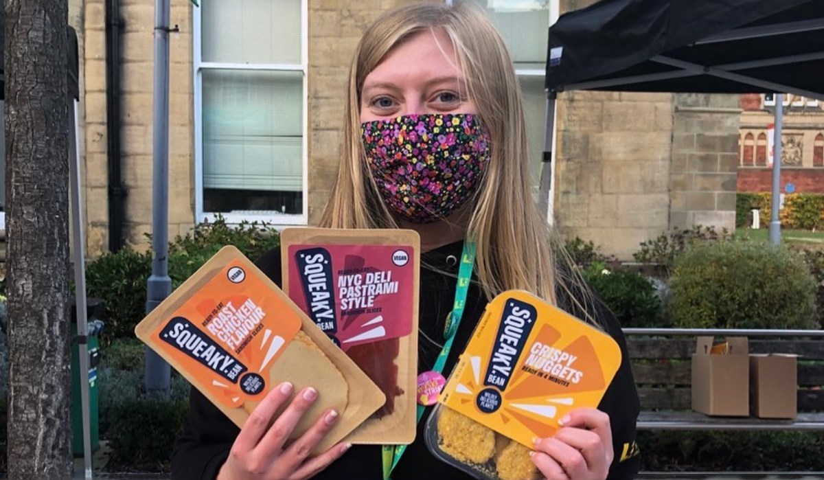 Squeaky Bean's vegan products