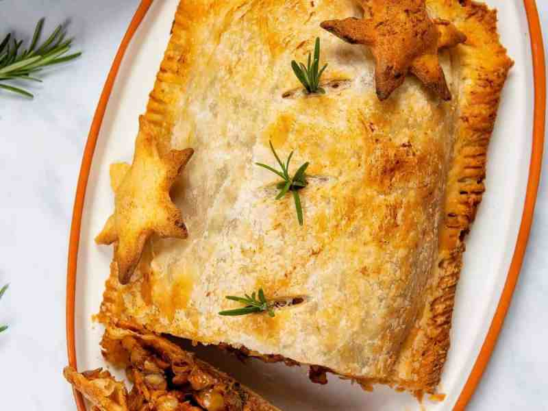 Easy Lentil Wellington