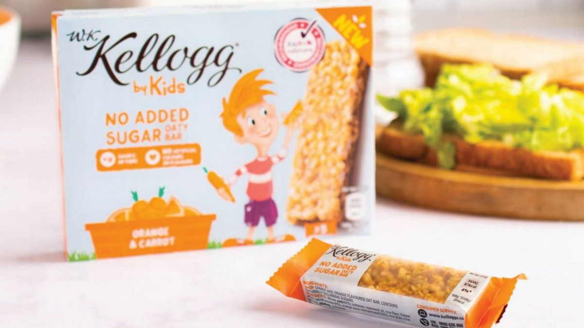Food Giant Kellogg's Launches Vegan Snack Range Created By Kids