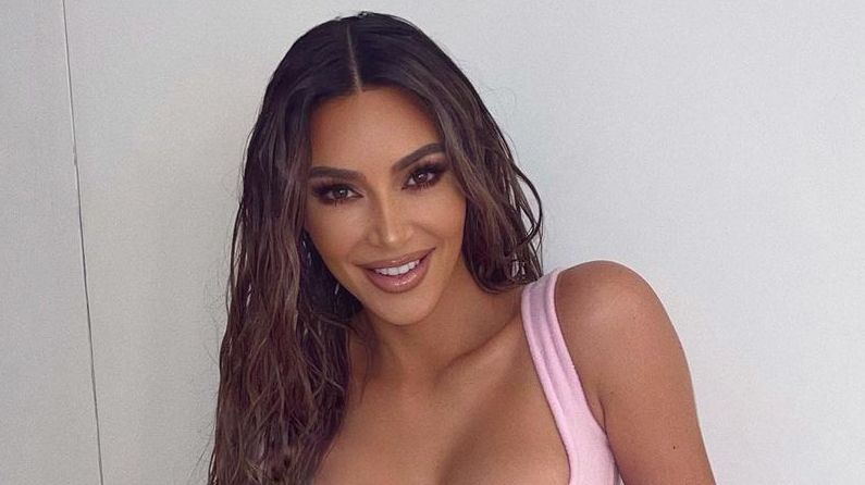 Kim Kardashian promotes a plant-based lifestyle on her Instagram, teasing an intense exercise routine for the New Year alongside.