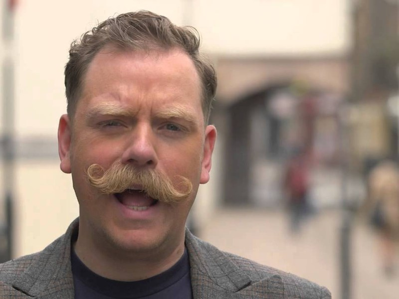 Rufus Hound improves his mental health with a plant-based diet