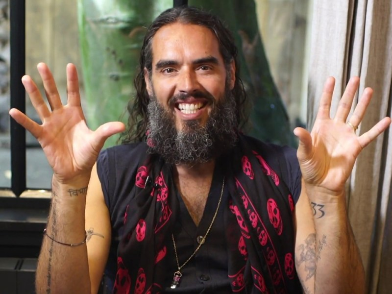 Russell Brand Responds To TikTok Star That Vegan Teacher - Calls For 'Tolerance' Online