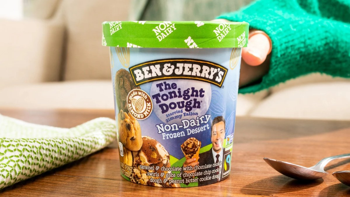 Ben & Jerry's Launches 19th Vegan Ice Cream Flavor: The Tonight Dough