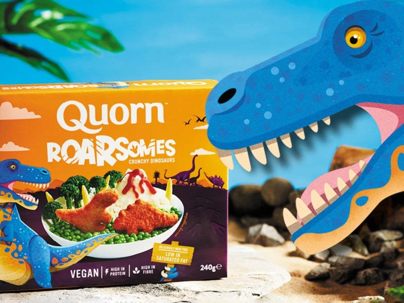 Quorn Launches Vegan Dinosaur Nuggets To Help Children 'Transition' To Meat-Free Diets