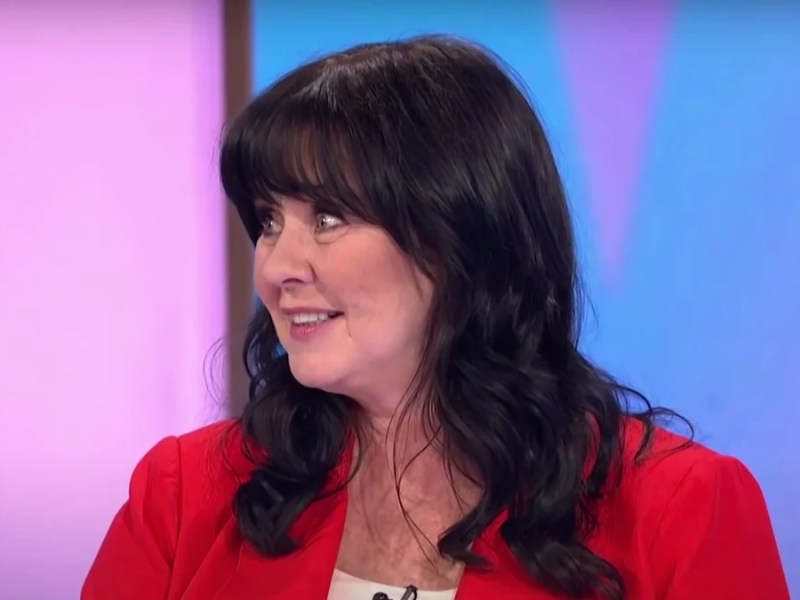 Coleen Nolan boasted weight loss and improved health since going vegan