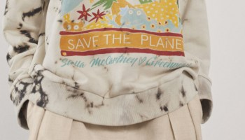 Stella McCartney has launched a capsule collection in coalition with Greenpeace's campaign to stop deforestation in the Amazon